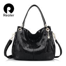 realer brand luxury handbag women