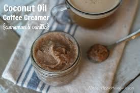 coconut oil coffee creamer modern