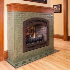 fireplace architectural tile handmade