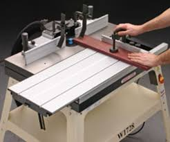 Shop Fox Sliding Router Table Adds Safety Woodshop News