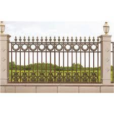 antique villa aluminum garden fencing
