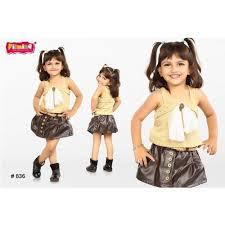 designer kids top and skirt at rs 700