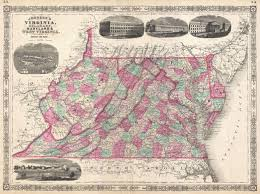 File:1866 Johnson Map of Virginia, West Virginia, Maryland and Delaware -  Geographicus - Virginia-johnson-1866.jpg - Wikimedia Commons