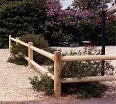 Cedar Round 2 Hole Post And Rail Includes 2 Rails And 1 Post Academy Fence Company Nj Pa Ny