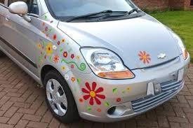 Big Daisy Car Sticker