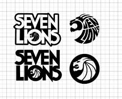 Seven Lions Car Decal Sticker Etsy In 2020 Car Decals Stickers Car Decals Logo Sticker