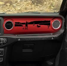 Jeep Wrangler Jl Jlu Front Fender Decal Jeep Wrangler Jl Decal