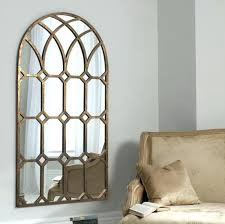 wall mirrors white arched decor