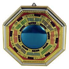 feng shui chinese convex bagua mirror