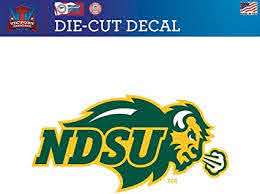 Amazon Com Victory Tailgate North Dakota State University Ndsu Bison Die Cut Vinyl Decal Logo 1 Sports Outdoors