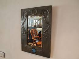crafts pewter mirror liberty style