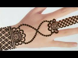 Mehndi Design Chain Front