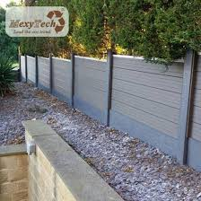 China Model Style 9 Grade Wind Resistant Eco Outdoor Privacy Fence For Garden China Privacy Fence Garden Fence