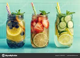 detox fruit infused water refreshing