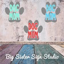 Dog Mom Decal Dog Decals Yeti Decals Tumbler Decal Vinyl Etsy