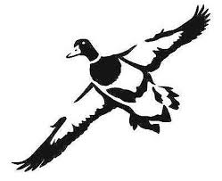 Mallards Landing Sticker Duck Flock Waterfowl Hunting Ducks Cut Vinyl Decal 5x7 Rainbowlands Lk
