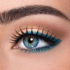 12 easy ideas for prom makeup for blue