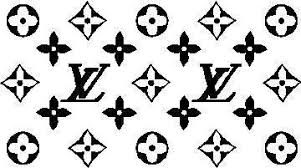 Louis Vuitton Pattern Decal Sticker 03