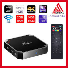 Sawpy X96 Mini Android TV Box Android 7.1 4K Smart TV Box 64bit Quad Core  CPU