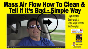 How To Tell If You Really Need A Mass Air Flow Sensor Auto Repair Wesley  Harrison Clean Maf