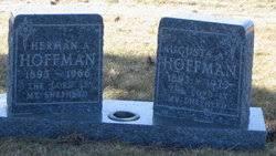 """Augusta Anna Wilhelmina """"Gustie"""" Wegner Hoffman (1893-1973) - Find A Grave  Memorial"""