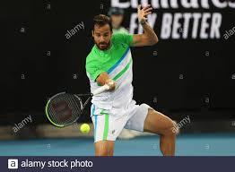 Melbourne, Australia. 20th Jan 2020. Melbourne, Australia. 20th Jan, 2020. Salvatore  Caruso of Italy loses in