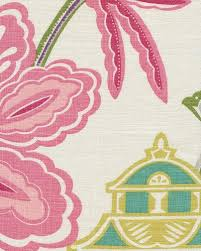 emperors garden blossom fabric