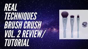 real techniques brush crush vol 2