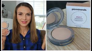 powder foundation review pur minerals