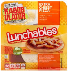 lunchables extra cheesy pizza lunch