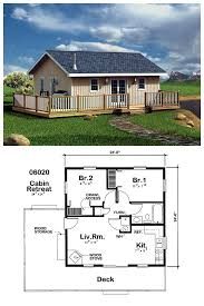 house plan 6020 with 2 bed