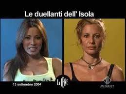 La celebre lite tra Antonella Elia e Aida Yespica all'Isola ...