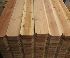 Wholesale Incense Cedar Wood Fence Barrel Woodworks