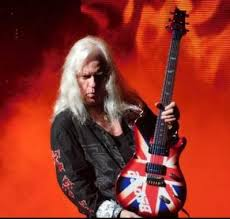 Howard Leese and his custom shop PRS with Union Jack design | Prs guitar,  Paul reed smith, Guitar