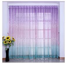 Curtains Drapes Valances Home Garden 1pc Girly Kids Teen Room Rod Pocket Window Curtain Valance Butterfly Turquoise 360idcom Fr