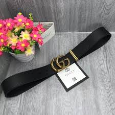 gucci leather belt with torchon double