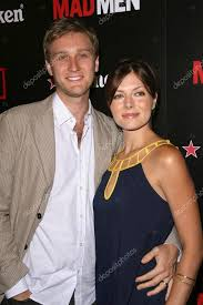 Aaron Staton and Connie Fletcher at the Wrap Party for Season 2 of ...