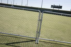 Portable Chain Link Fence Panel 4 H X 10 L Walmart Com Walmart Com