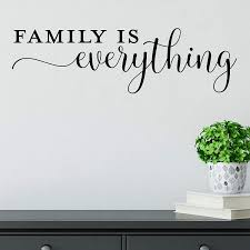 Amazon Com Family Is Everything Vinyl Wall Decal Sticker Removable Multi Color Available Handmade