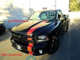 Dodge Ram 1500 Truck Mopar Racing Stripes Decals Trunk Hood Graphics Red 20 Feet Dodge Ram 1500 Ram 1500 Mopar