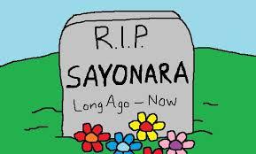 say sayonara to sayonara % of ese don t use this word