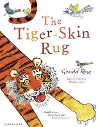the tiger skin rug by gerald rose