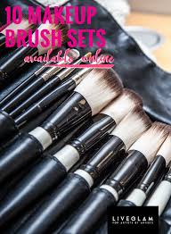 best makeup brush sets available