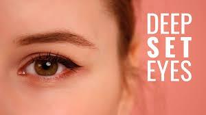 how to apply eye makeup to sunken eyes
