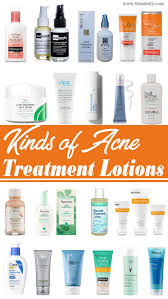 kinds of acne treatment lotions