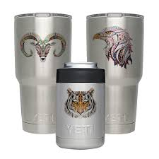 Gamexcel Decal For Yeti Cups Stickers For Vinyl Tumbler Personalized Protective Decals Sticker Diy For Yeti Tumbler 20 30 Oz Lowball Rambler Cups Laptop Pad Phone 3 Pack Sheep
