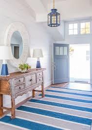 coastal interiors with navy blue