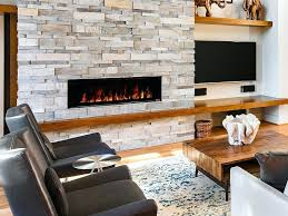 electric fireplace insert in black be