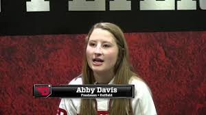 Abby Davis - 2018 Softball Bio - YouTube