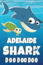 bol.com | Adelaide: Adelaide Shark Doo Doo Doo Notebook Journal For Drawing  or Sketching Writing...